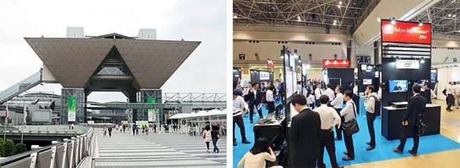 (left) Tokyo Big Sight (right) WTP2016