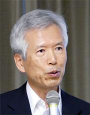Professor Susumu Yoshida, chairman of the 5GMF
