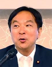 Rep. Keiichi Koshimizu, Parliamentary Vice-Minister for Internal Affairs and Communications
