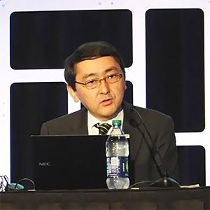 Mr. Akira Matsunaga, Acting Chairman, Technical Committee, 5GMF, KDDI