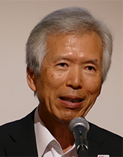Professor emeritus Susumu Yoshida (Kyoto University) Chairman, 5GMF