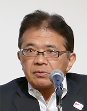 Mr. Katsuya Watanabe Director-General of the Radio Department of the MIC's Telecommunications Bureau (Current Vice-Minister for Policy Coordination)