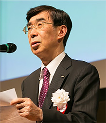 Mr. HOSHI Katsuaki, Chief of the Development Center, ARIB