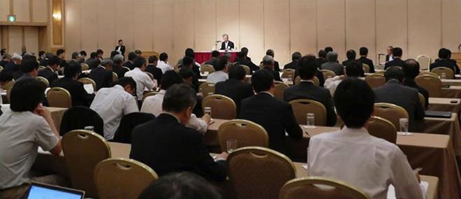 【写真】第5世代モバイル推進フォーラム設立総会の様子