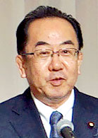 【写真】西銘恒三郎 総務副大臣