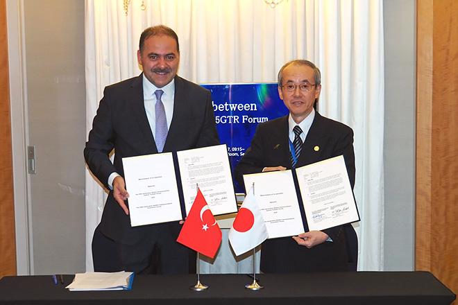 トルコ 5GTR ForumとのMoC締結式(11月23日)