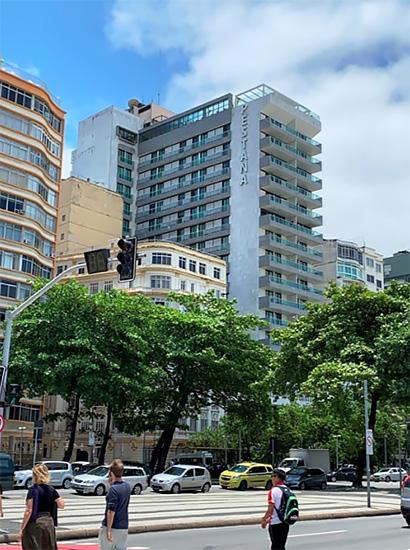 イベント会場(PESTANA Hotel、リオデジャネイロ市)