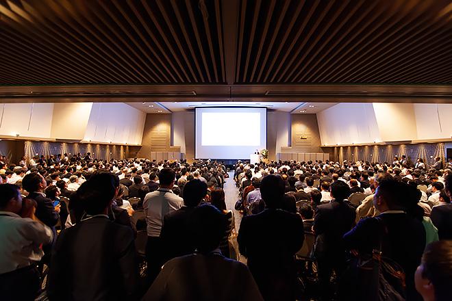 午後の部「5G国際セミナー2019」会場の様子
